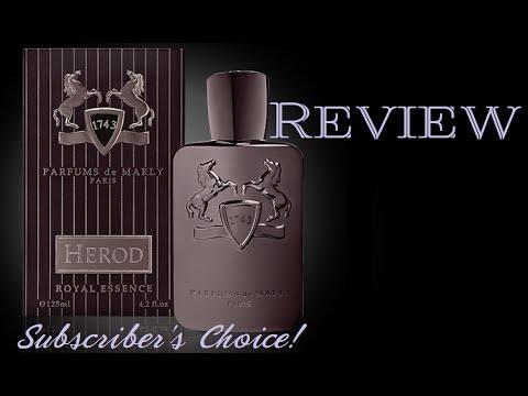 parfums de marly herod subscriber 39 s choice winner youtube. Black Bedroom Furniture Sets. Home Design Ideas