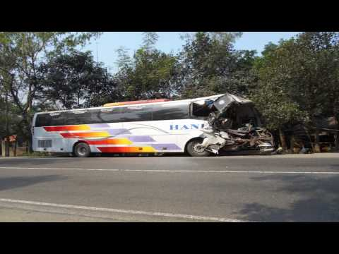 Hanif Enterprise Bus Accident In Bogra