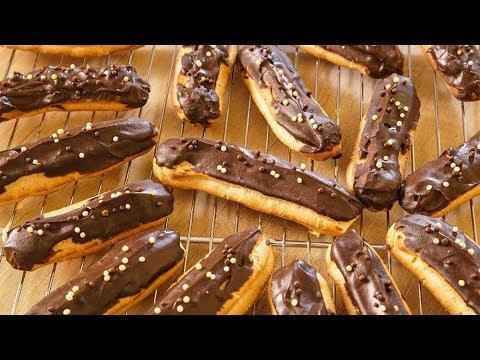 How To Make Chocolate Eclairs | Chocolate Eclairs Recipe | COOK LIKE A BOSCH | Upasana Shukla