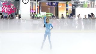 Nayfa Ikut Lomba Ice Skating Cover I Will Survive  - Rhythmic Hula Hoop Dapat Gold Medal