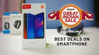 Amazon Great Indian Festival Sale | Today Best Deal on Amazon | Unboxing Redmi 7