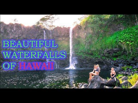 CHASING WATERFALLS,  EXPLORING HAWAII - FAMILY TRAVEL VLOG