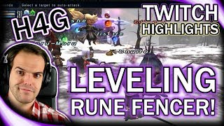 FFXI in 2017 - Leveling Rune Fencer! - Twitch Highlights