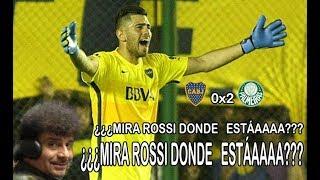 Narrador argentino fica furioso com o goleiro Rossi do Boca 🤣 [LEGENDADO]