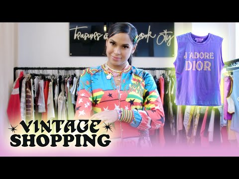 Princess Nokia goes Vintage Shopping with Complex   Vintage Shopping