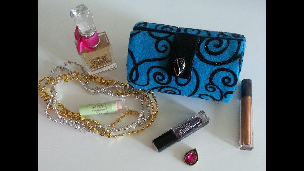 Diy box clutch purse