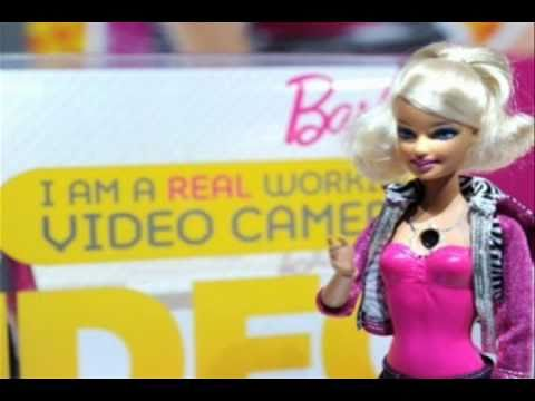 Big John & Amy Play with Video Girl Barbie