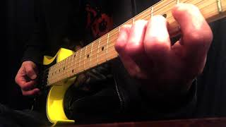 """How To Play The """"Cabo Wabo"""" Riff   Van Halen"""