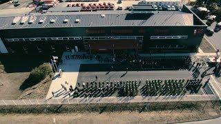 Inauguration de l'état major Louis PINTON du SDIS de l'INDRE 36 le 22 octobre 2018 @pompiers36