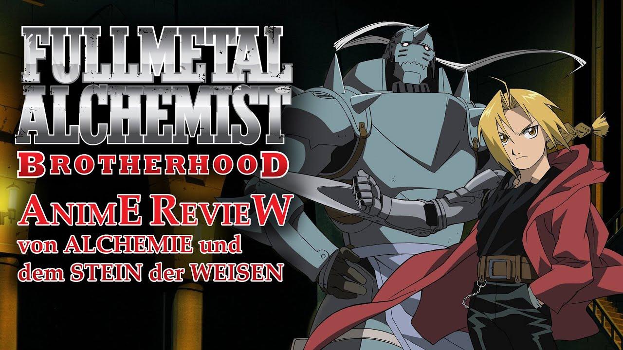 AI TV: REVIEW Fullmetal Alchemist BROTHERHOOD - YouTube