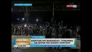 Kapitan ng barangay, itinumba sa gitna ng dance contest