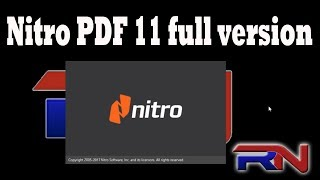 Gambar cover How to Download and Install Nitro PDF 11 full version