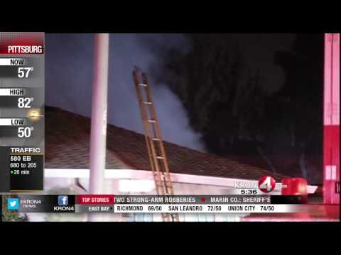 Family Garage Catches on Fire in Fremont