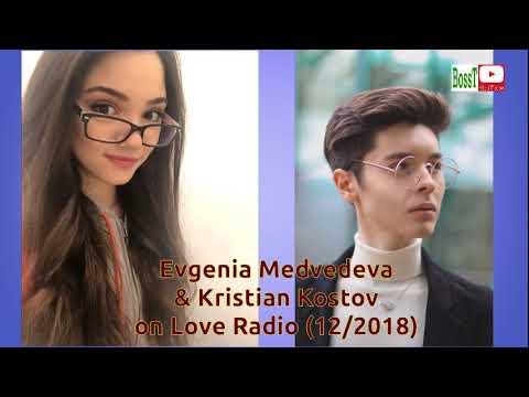 Evgenia MEDVEDEVA & Kristian KOSTOV - Guest on Love Radio 2018 (audio)