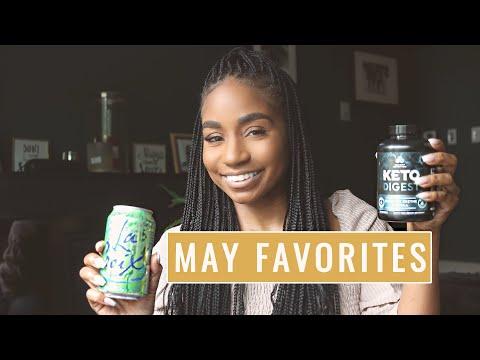 May Favoritessss!!! Keto Supplements, Makeup, Skincare etc...!!!  | JaLisaEVaughn thumbnail