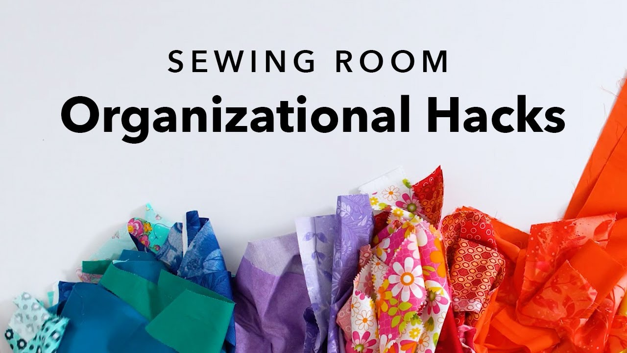 5 Clever Sewing Room Organization Ideas Youtube