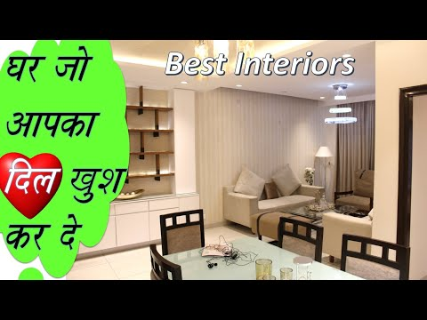 4 Bhk Interior Design Home Decorating Ideas On A Budget Low Cost Home Decor Ideas For Small Home Youtube