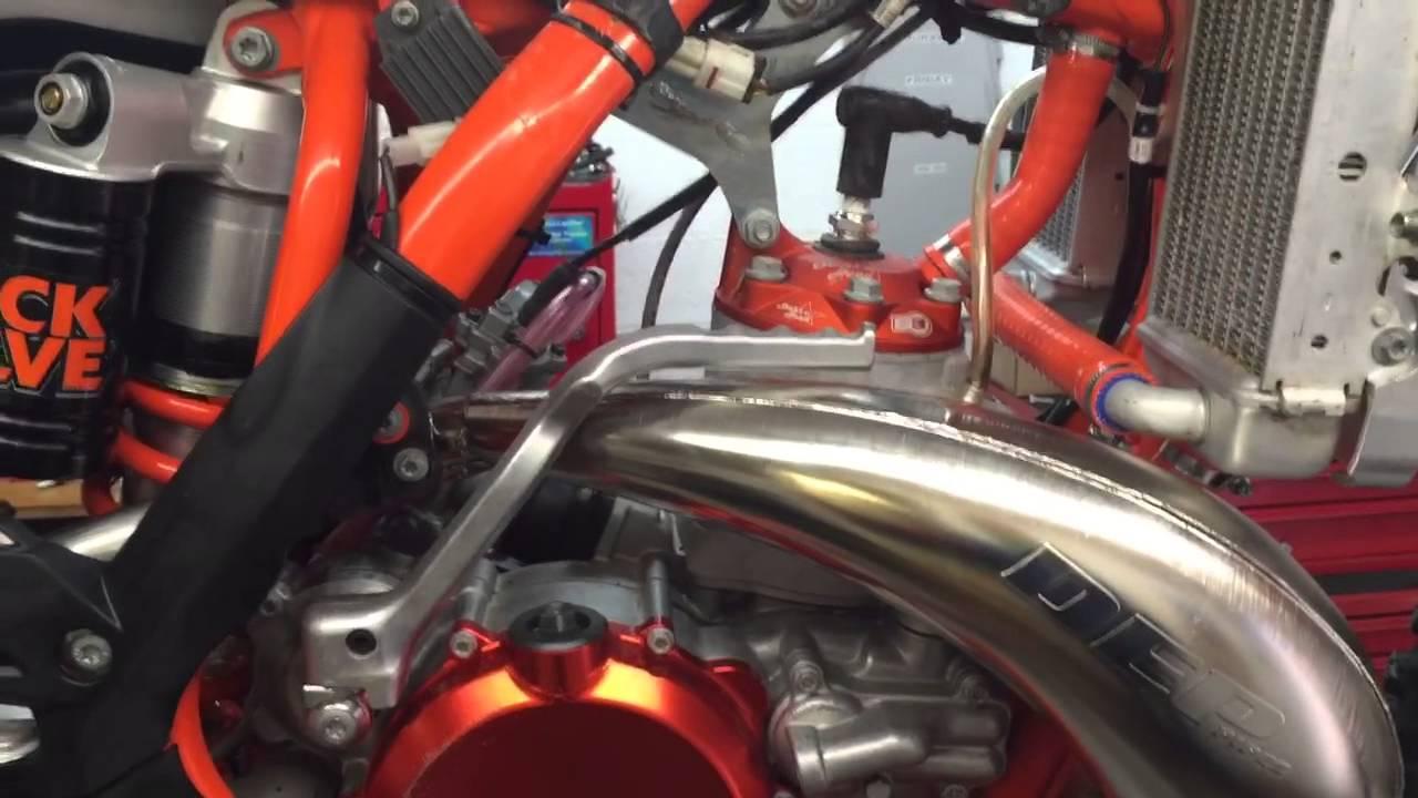 Rubber Exhaust Joint for KTM, Husaberg, Husqvarna