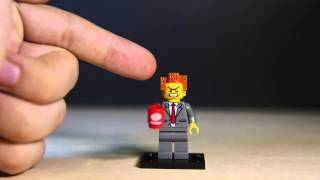 The Lego Movie Minifigure Series Lord President Business