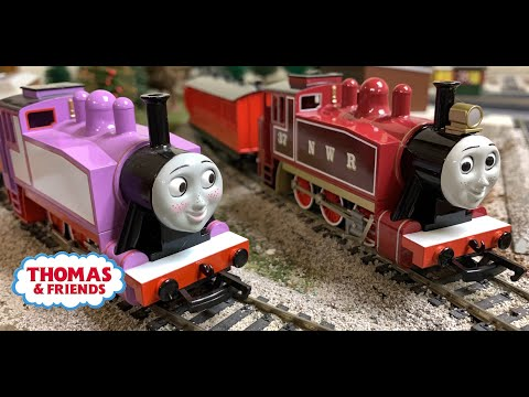 BACHMANN RED ROSIE!!! NEW 2019 Thomas & Friends Is Here! HO Scale