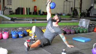 TGU sit up Kettlebell Exercise