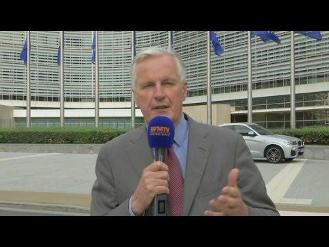 """Michel Barnier: """"Nous garderons avec les Britanniques une communauté d'intérêt"""""""