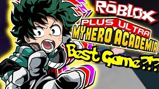 LE MEILLEUR NOUVEAU MY HERO ACADEMIA GAME ON ROBLOX?!? | Roblox: My Hero Academia Plus Ultra!