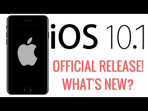 iOS 10.1 Released! What