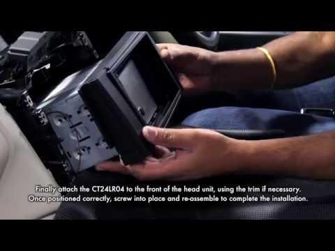Range Rover Sport Double Din Car Stereo Facia Fitting Kit CT23LR02