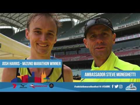Kane Cornes Interview post 2016The Athlete's Foot Adelaide Marathon Festival