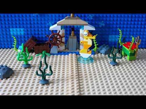 Лего мультфильм подводный мир