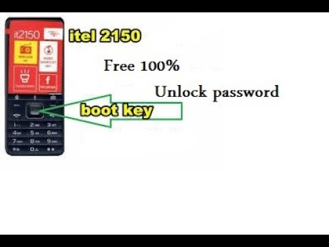 How To Remove User Password In Itel 2150 New Read Flash File