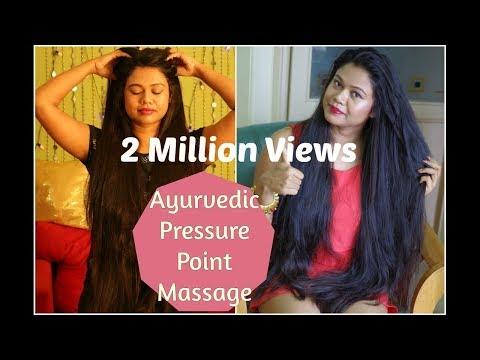 बालों को रातों रात लंबा करें आयुर्वेदिक मसाज से |Ayurvedic Pressure Point Head Massage 4 Hair Growth