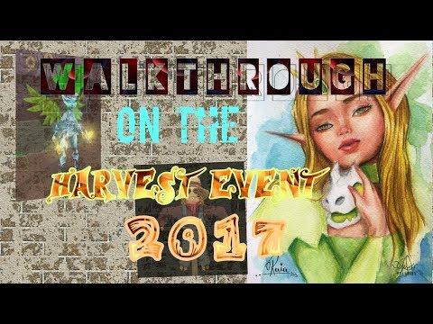 ARCANE LEGENDS: HARVEST EVENT 2017♥😘😍😜😝