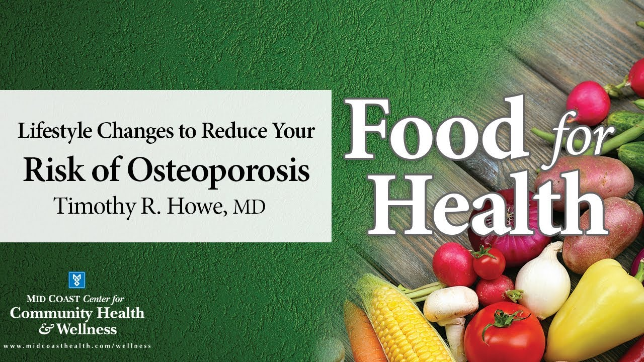 Osteoporosis diet and lifestyle