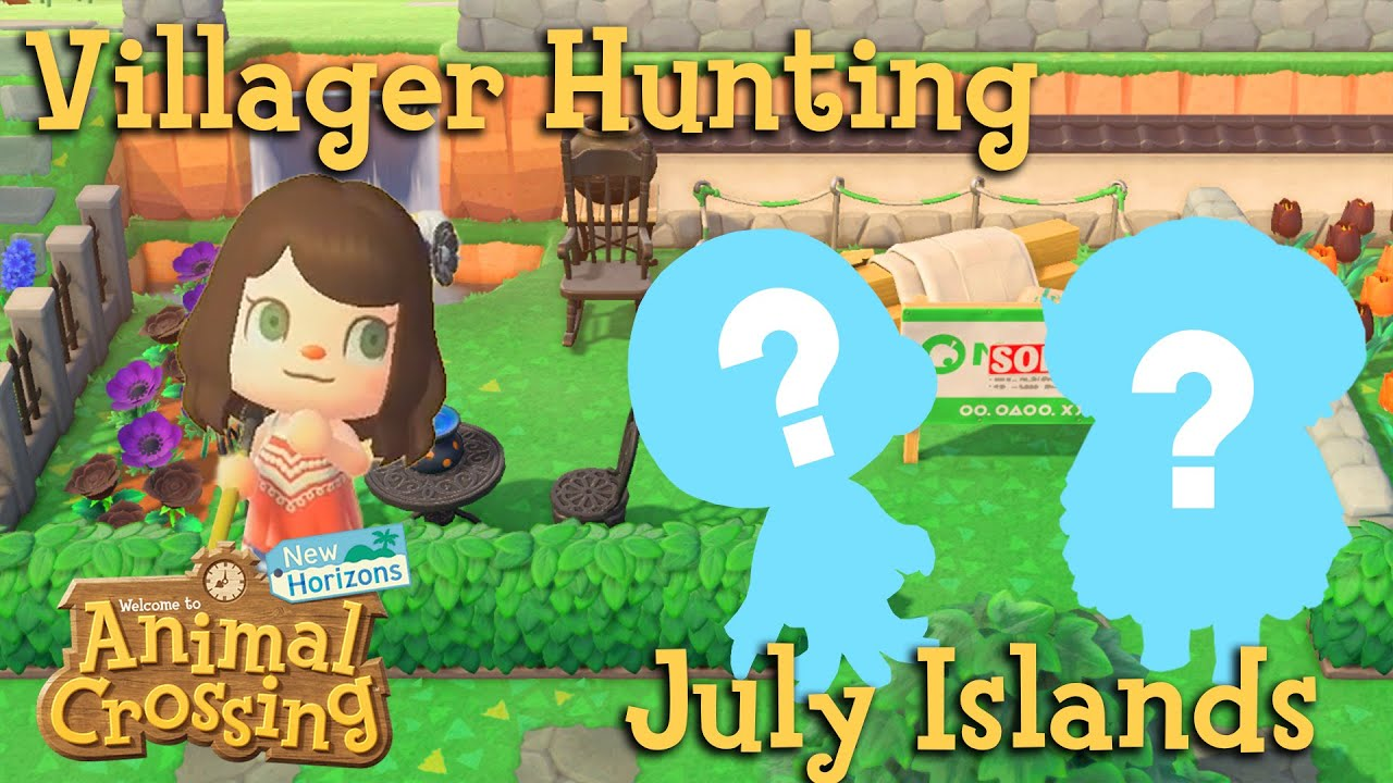 Villager Hunting Sheep Search Continues July Animal Crossing