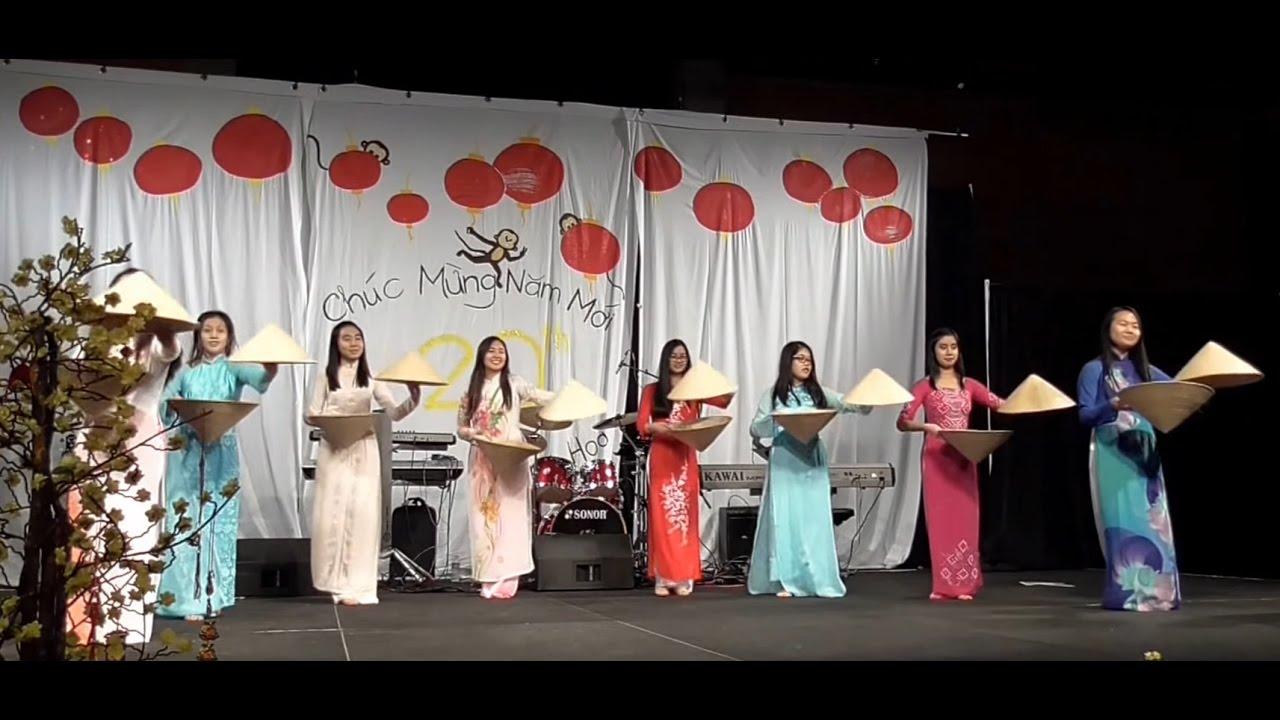 """Múa """"Đêm Giao Thừa Nghe Một Khúc Dân Ca"""" - GĐPT Vạn Hạnh [Xuân Bính Thân 2016]"""