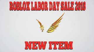 SHOULD YOU BUY WHITE GOLD WINGS? || Roblox Labor Day Sale 2018