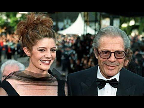 Chiara Mastroianni and Marcello Mastroianni  daughter and father  padre e figlia