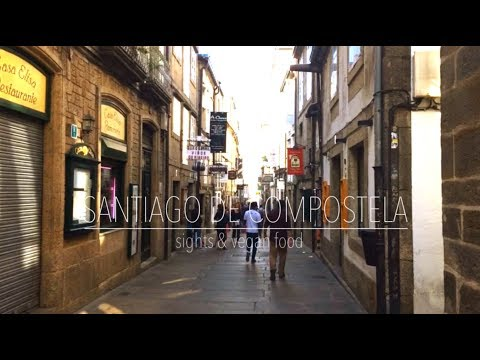 SANTIAGO DE COMPOSTELA | sights & vegan food | the vegan travelers