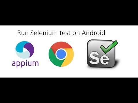 Automate mobile web application using Selenium