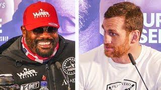 Dereck Chisora vs David Price FULL PRESS CONFERENCE: WAR vs BIG TRUCK | Matchroom Boxing