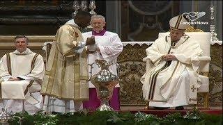 No Vaticano, Papa renova promessas sacerdotais de padres de Roma
