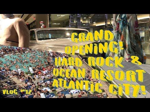 (GRAND OPENING!!!) Hard Rock & Ocean Resort Atlantic City| Hotel, Pool, & Room Tour Vlog #12