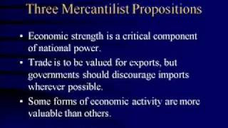 Introduction to International Political Economy, Lecture #1