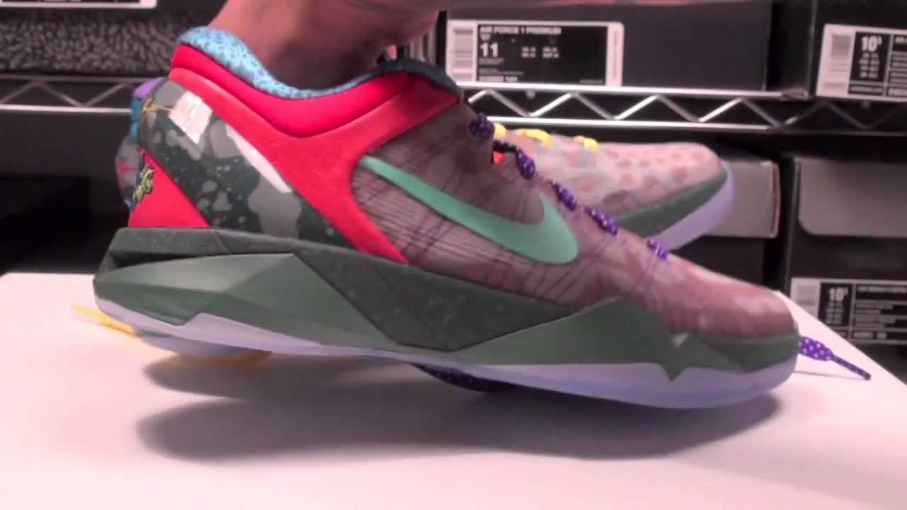 buy popular 9f306 8852d Nike Kobe 7 (VII) What The Kobe