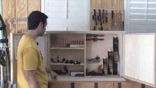 154 - How To Build A Wall-hanging Tool Chest (part 3 Of 3)