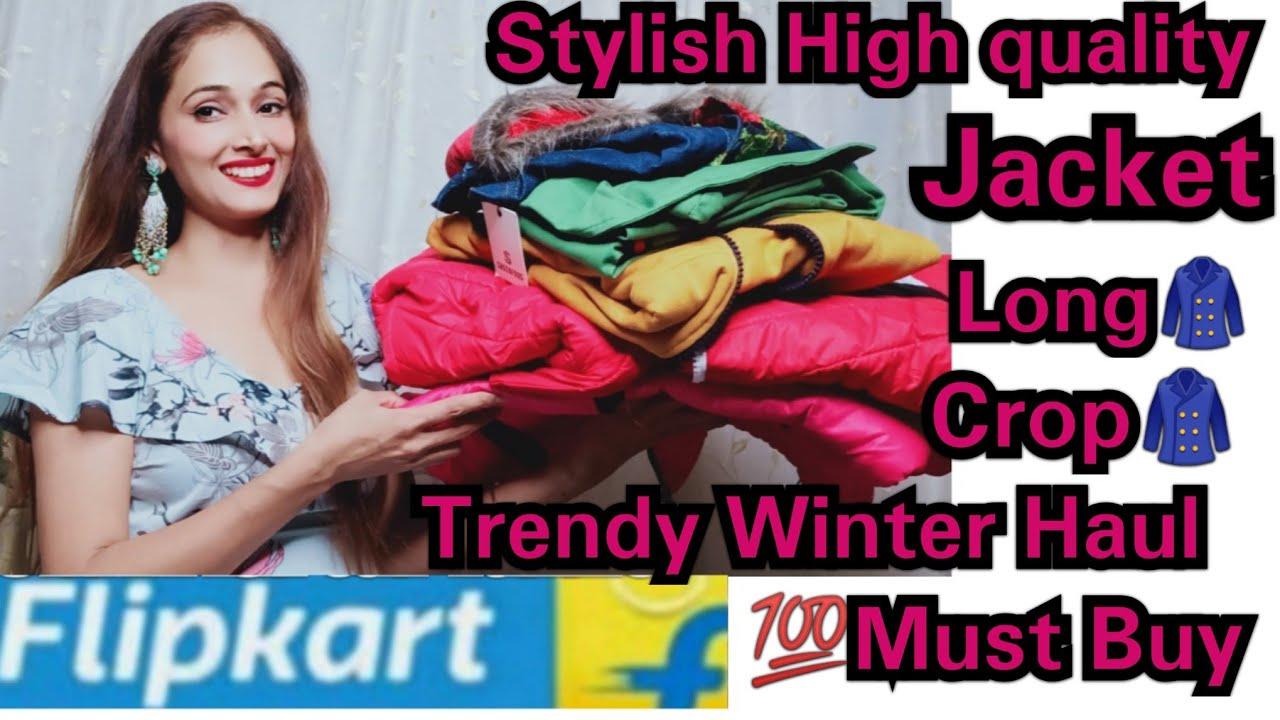 Flipkart Woollen Sweater Jacket Long Winter Jacket woolen haul #Sweater #jacket winter Shopping haul