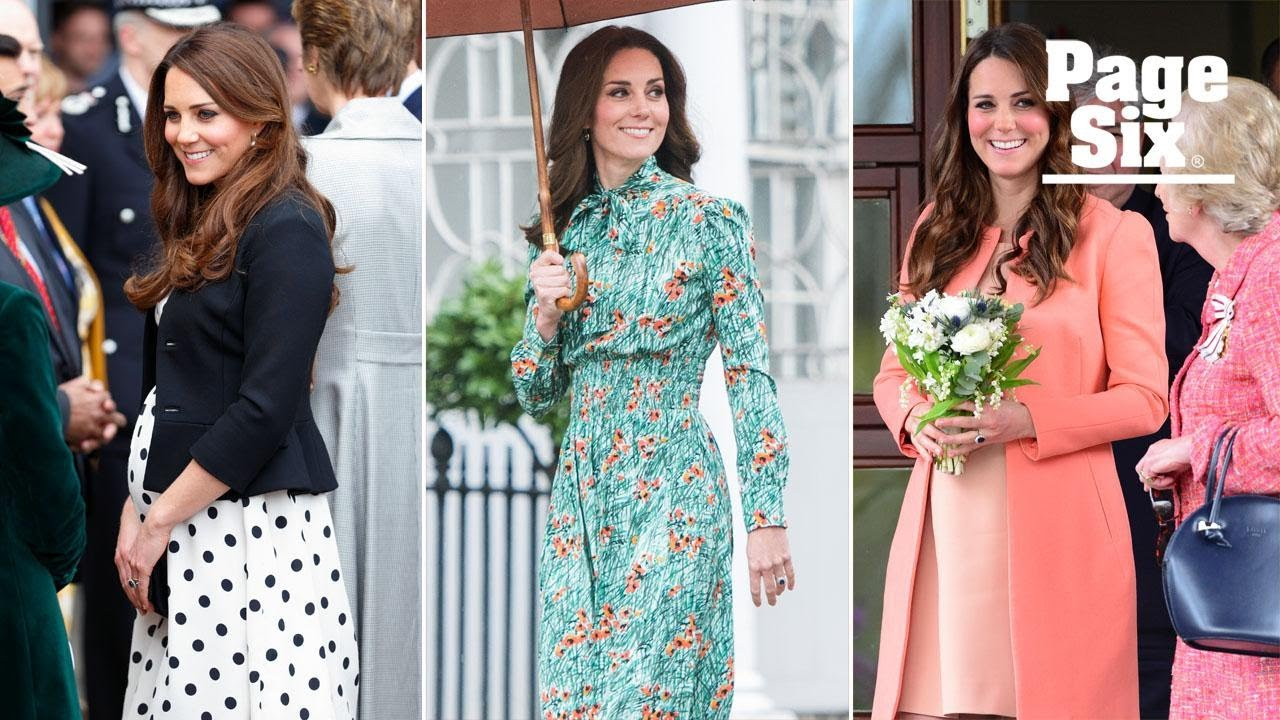 Kate Middleton Stuns The World With Her Maternity Style