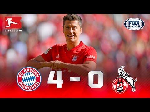 Bayern Múnich - FC Colonia [4-0] | GOLES | Jornada 5 | Bundesliga